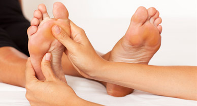 foot pressure point to heal